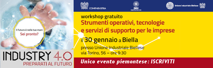 ISCRIVITI SU http://preparatialfuturo.confindustria.it/evento/biella/